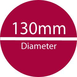 130 mm