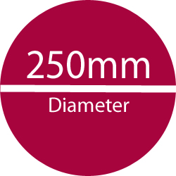 250 mm