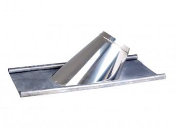 Dakplaat met loodlap 5 - 27 ° (130mm)