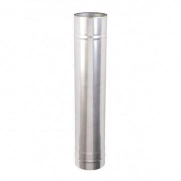 Kachelpijp 1000mm Enkelwandig (150mm)