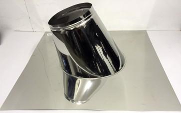 Dakplaat zonder loodlap 27 - 47 ° (130mm)