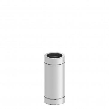 Kachelpijp 500mm Dubbelwandig WW (150mm)