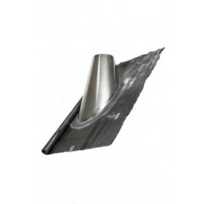 Dakplaat met loodlap 45 - 60 ° (80mm)
