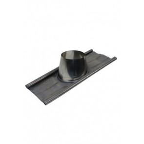 Dakplaat met loodlap 5 - 25 ° (80mm)