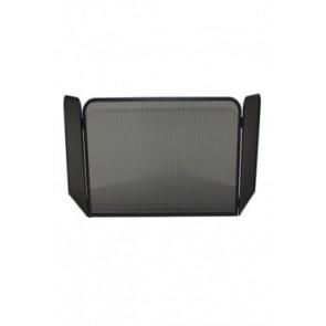 Vonkenscherm panorama zwart 48 cm hoog 54 cm breed 26 cm diep