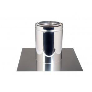 Concentrisch dakplaat  0-10 °   Ø 100-150mm