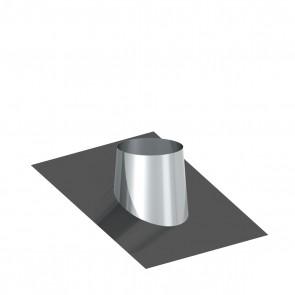 Dakplaat met loodlap 16 - 25 ° WW (130mm)