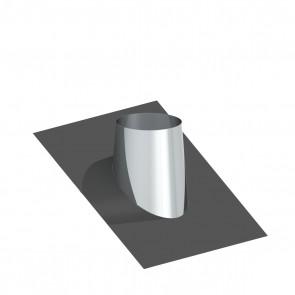 Dakplaat met loodlap 26 - 35 ° WW (130mm)