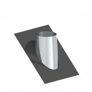 Dakplaat met loodlap 36 - 45 ° WW (130mm)