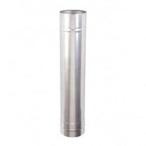Kachelpijp 1000mm Enkelwandig (130mm)