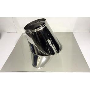 Dakplaat zonder loodlap 27 - 47 ° (150mm)