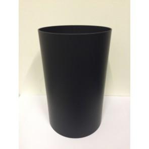 Buis 250 mm met een condensring 150mm Dik (Zwart)