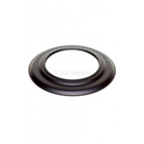 Rozet  staal  (180mm) Zwart 50 mm