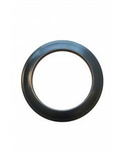 Rozet Dunwandig staal (125 mm) Geblauwd