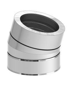 Dubbelwandige Bocht 15° (180/250 mm)