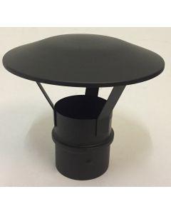 Regenkap zwart (80mm)