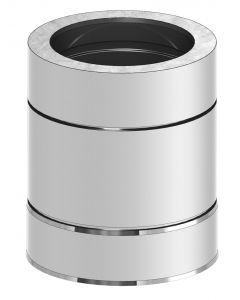 Kachelpijp Dubbelwandig 250mm WW (180mm)
